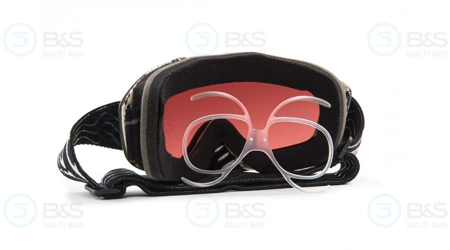Universální korekční klip do lyžařských brýlí